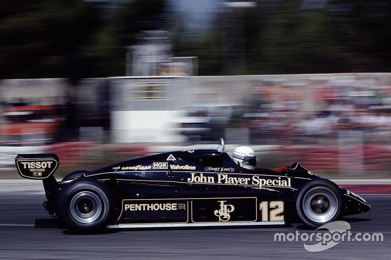 1982. Lotus 91 Ford