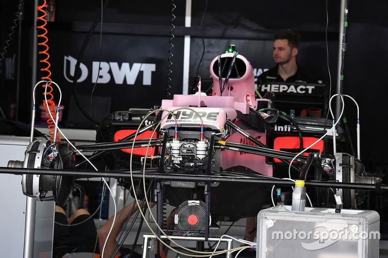 Подготовка Force India VJM10