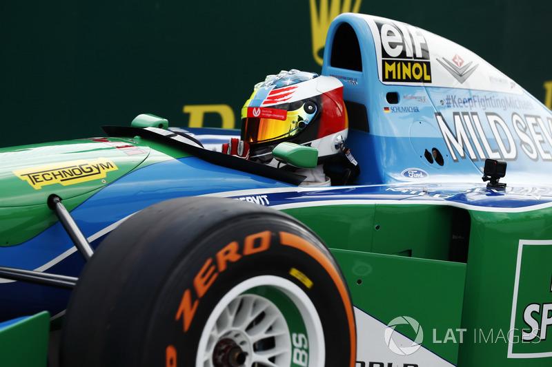 Мік Шумахер керує Benetton Ford B194