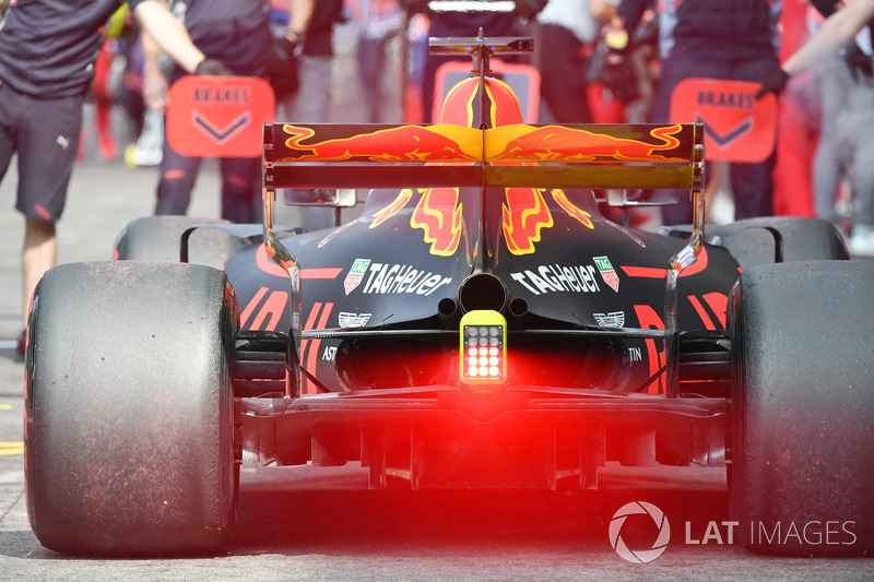 Daniel Ricciardo, Red Bull Racing RB13 rear