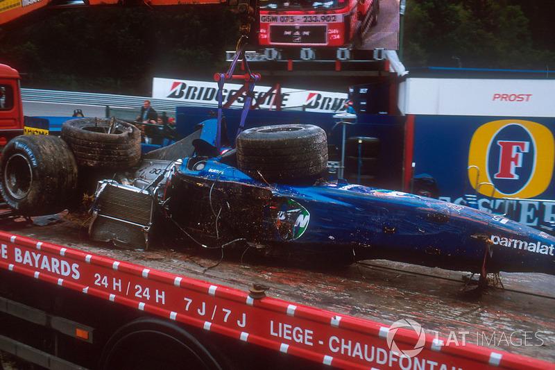 Спа 2001: аварія Лучано Бурті