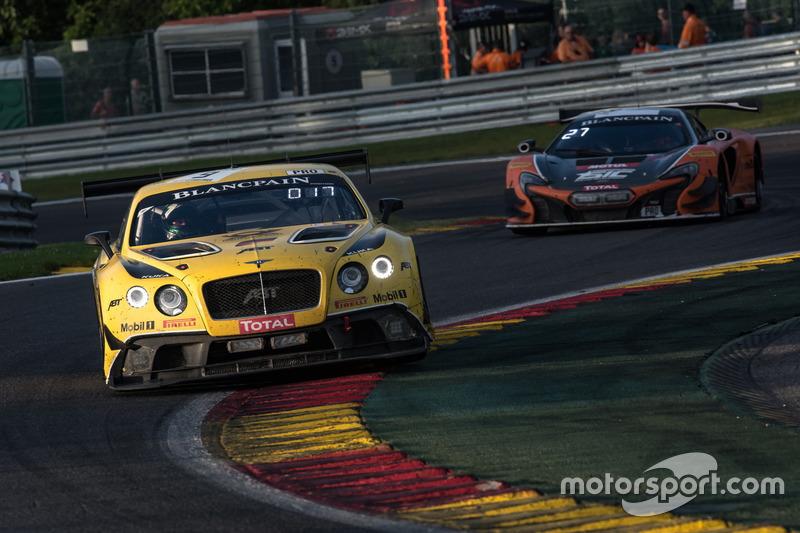 #9 Bentley Team ABT Bentley Continental GT3: Nico Verdonck, Christer Jöns, Jordan Pepper