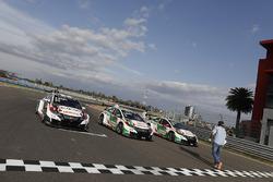 Honda Racing Team JAS during MAC3 qualifying
