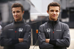 McLaren junior driver Lando Norris