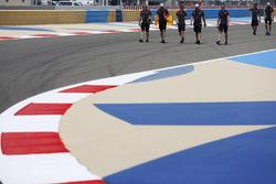 Ознакомление с трассой: Ромен Грожан, Haas F1