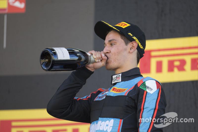 Podium: third place Alessio Lorandi, Jenzer Motorsport