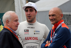 Pepe Oriola, Lukoil Craft-Bamboo Racing, SEAT León TCR y Gabriele Tarquini