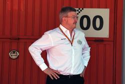 Ross Brawn, fórmula uno gestión de Director de deportes de motor en parc ferme