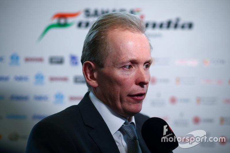 Technikchef Andrew Green, Sahara Force India F1 Team