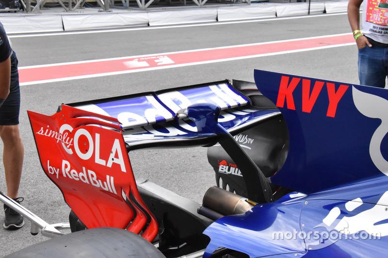 Заднее крыло Toro Rosso STR12