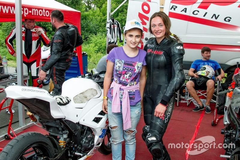 UASBK (Леді): Дар'я Разумова (Україна, праворуч)
