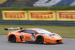 #27 Orange 1 Team Lazarus Lamborghini Huracan GT3: Nicolas Pohler, Fabrizio Crestani