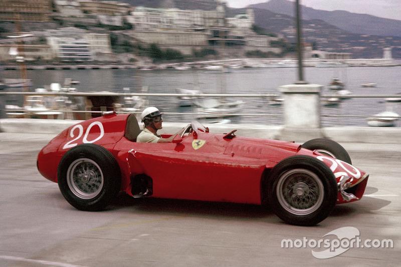 1956-1957: Lancia-Ferrari D50