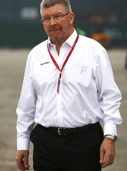 Ross Brawn, FOM Managing Director of Motorsports