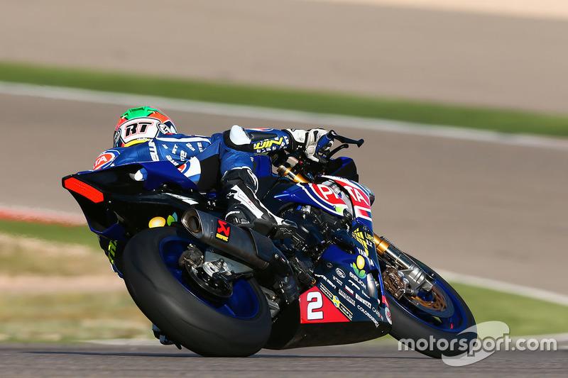 Roberto Tamburini, Pata Yamaha Official STK 1000 Team