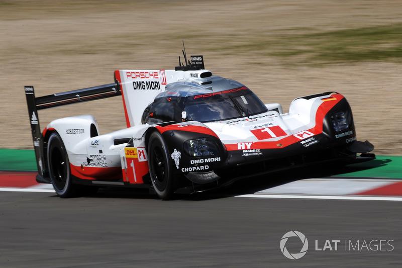 #1 Porsche Team Porsche 919 Hybrid: Ніл Яані, Андре Лоттерер, Нік Тенді
