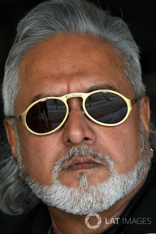 Vijay Mallya, Sahara Force India F1 Team