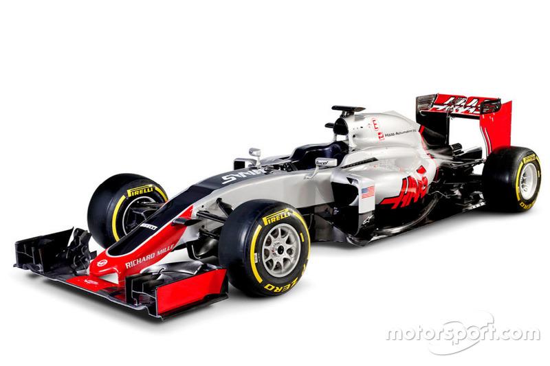 2016: Haas-Ferrari VF-16