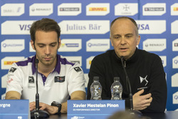 Jean-Eric Vergne, DS Virgin Racing e Xavier Mestelan Pinon, Direttore DS Performance