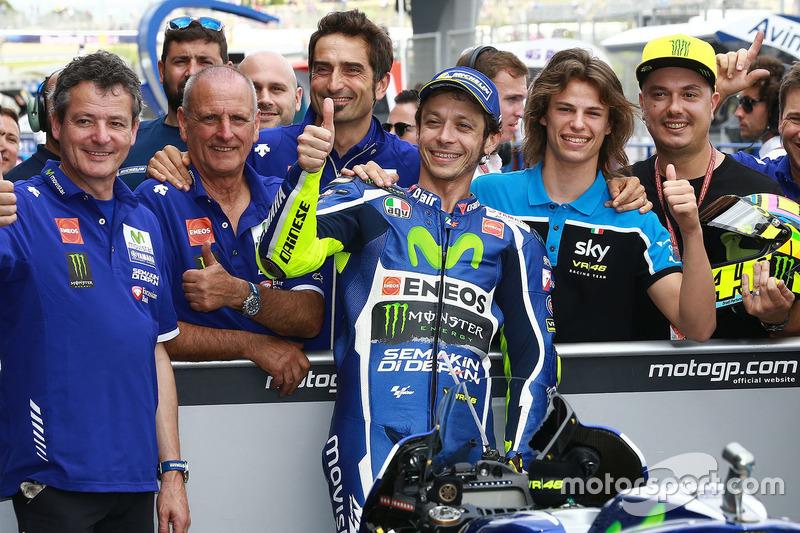 Pole-Position für Valentino Rossi, Yamaha Factory Racing