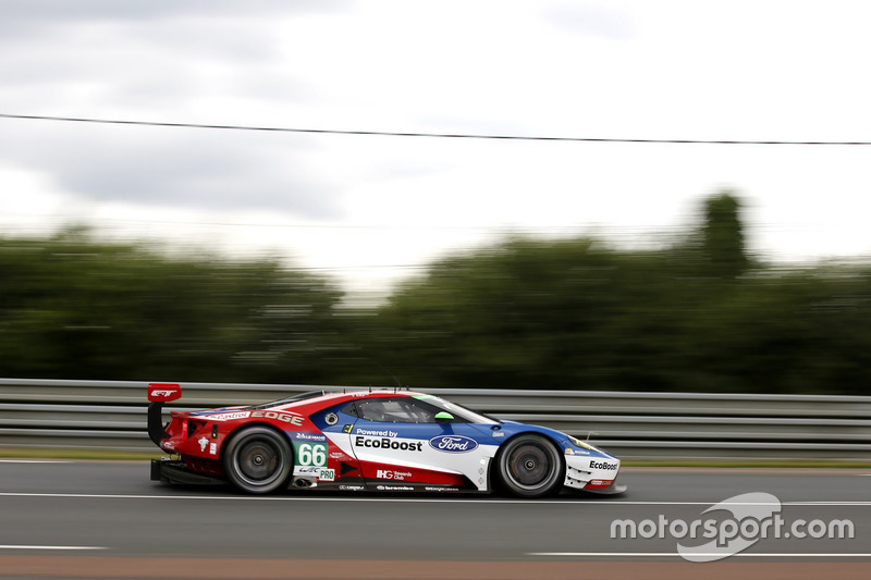 #66 Ford Chip Ganassi Racing Ford GT: Олівер Пла, Штефан Мюке, Біллі Джонс