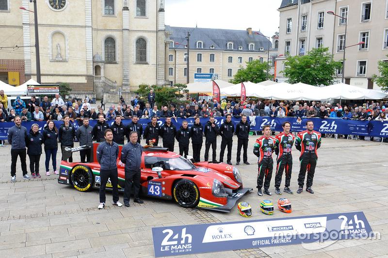 #43 RGR Sport by Morand Ligier JSP2 Nissan: Рікардо Гонсалес, Феліпе Альбукерке, Бруно Сенна