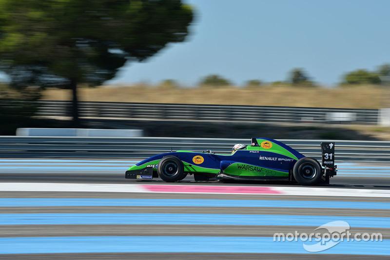 Antoni Ptak, Team Cram Motorsport