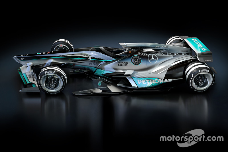 Gallery Fantasy F1 2030 Design Concepts The Full Grid