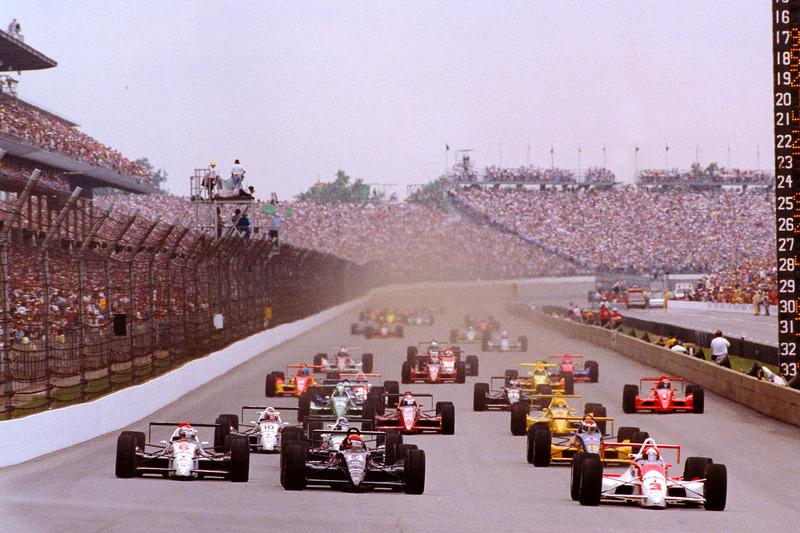 1991: Actie bij de start