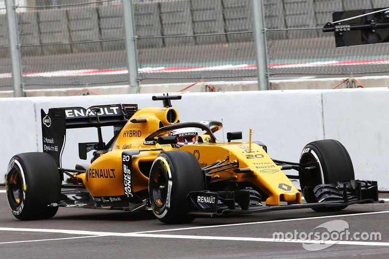 Kevin Magnussen, Renault Sport F1 Team RS16, Halo kokpit ile