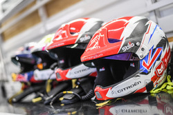 Les casques des équipages Citroën