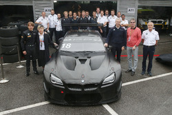 Augusto Farfus, BMW Team Schnitzer, BMW M6 GT3 con Chao Fei, Jens Marquardt, BMW Motorsport Director