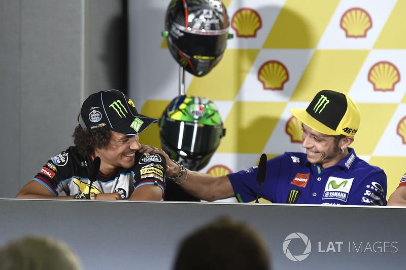 Valentino Rossi, Yamaha Factory Racing, Franco Morbidelli, Marc VDS