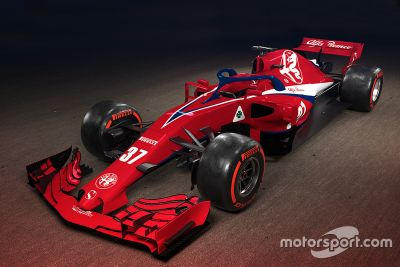 Sauber F1 Team konsept tasarımı