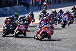 Start zum MotoGP-Finale 2017 in Valencia: Marc Marquez, Repsol Honda Team, führt