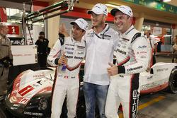 LMP1 ganadores de la pole #1 Porsche Team Porsche 919 Hybrid: Neel Jani, Andre Lotterer, Nick Tandy