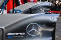 Аеродинамічні елементи Mercedes-AMG F1 W09