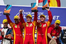 Podium: Race winners #24 Racing Engineering Oreca 07 - Gibson: Norman Nato, Olivier Pla, Paul Petit