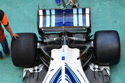 Williams FW40: Heck