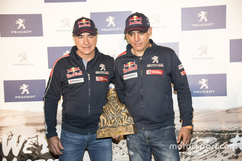 Dakar (coches): Carlos Sainz y Lucas Cruz, Peugeot Sport