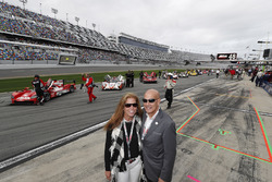 IMSA President and COO Scott Atherton with wife Nancy