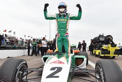 Ganador de la carrera Rinus van Kalmthout