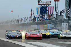 #26 Callaway Competition USA Chevrolet Corvette C7 GT3-R: Daniel Keilwitz, #61 R.Ferri Motorsport Fe