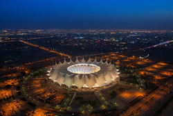 King Fahd International Stadium in Riyadh, Saudi Arabia