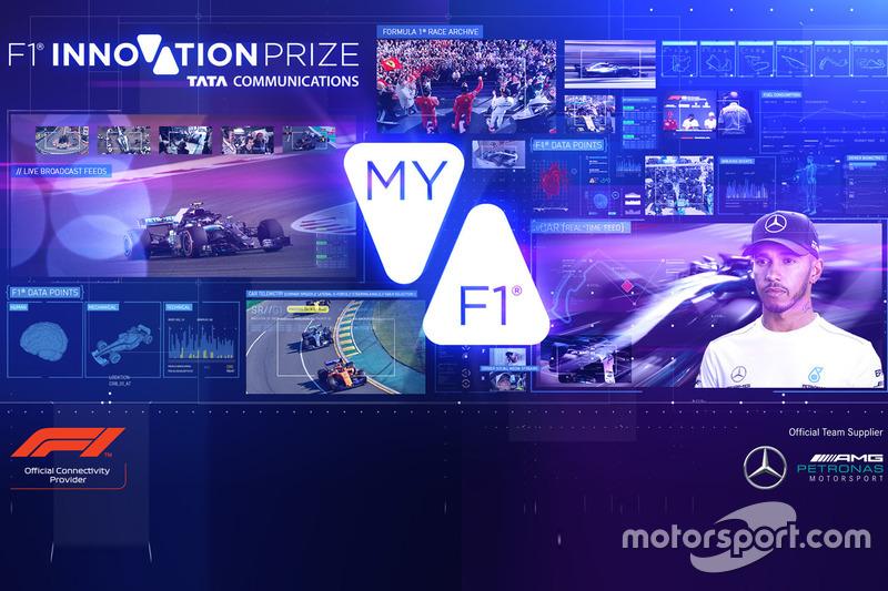 F1 Innovation Prize 2018
