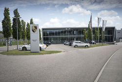 L'usine Porsche Motorsport