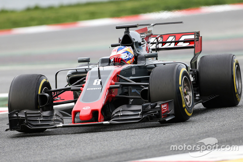 Ромен Грожан, , Haas F1 VF-17