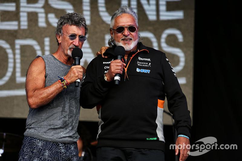 Едді Джордан, заступник керівника Sahara Force India F1 Боб Фернлі