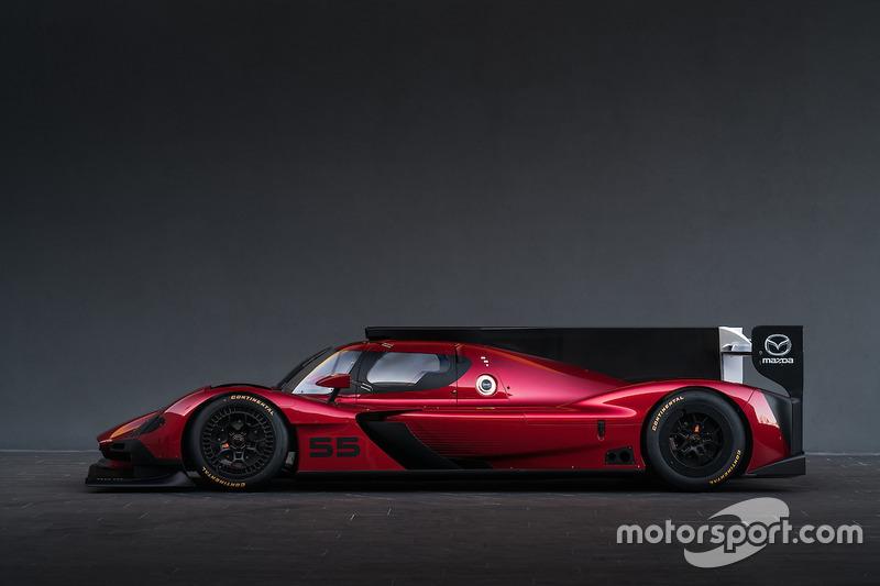 Mazda RP-24P Prototype unveiling