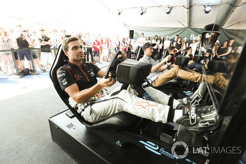 Jérôme d'Ambrosio, Dragon Racing, durante la eRace